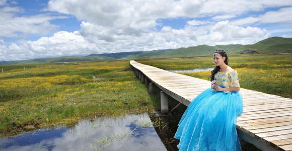 去阿坝州旅拍婚纱照应该怎样玩 阿坝州旅拍婚纱照