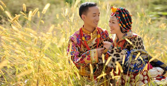 藏式婚纱照