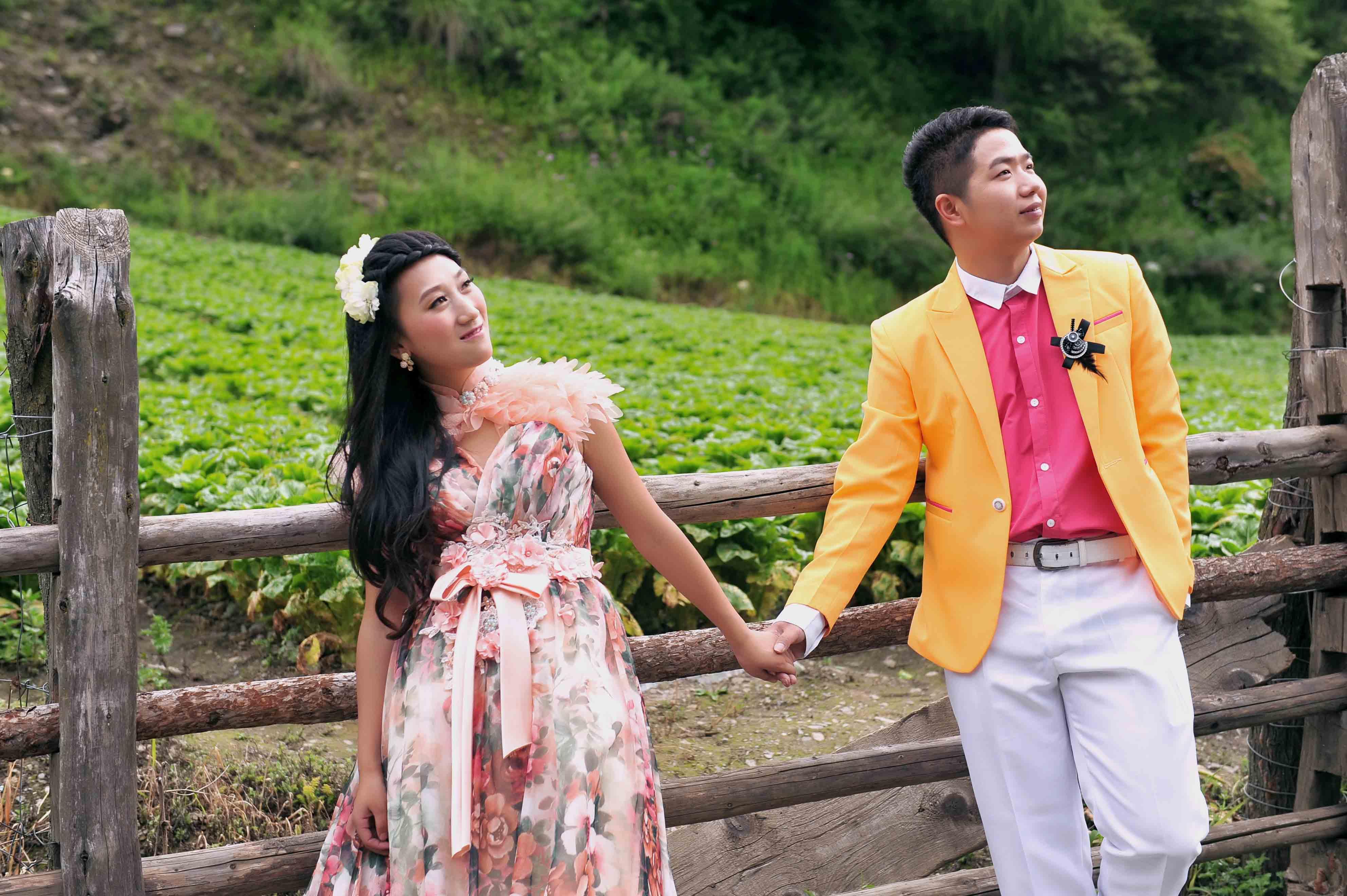 米亚罗外景婚纱照,旅行婚纱摄影