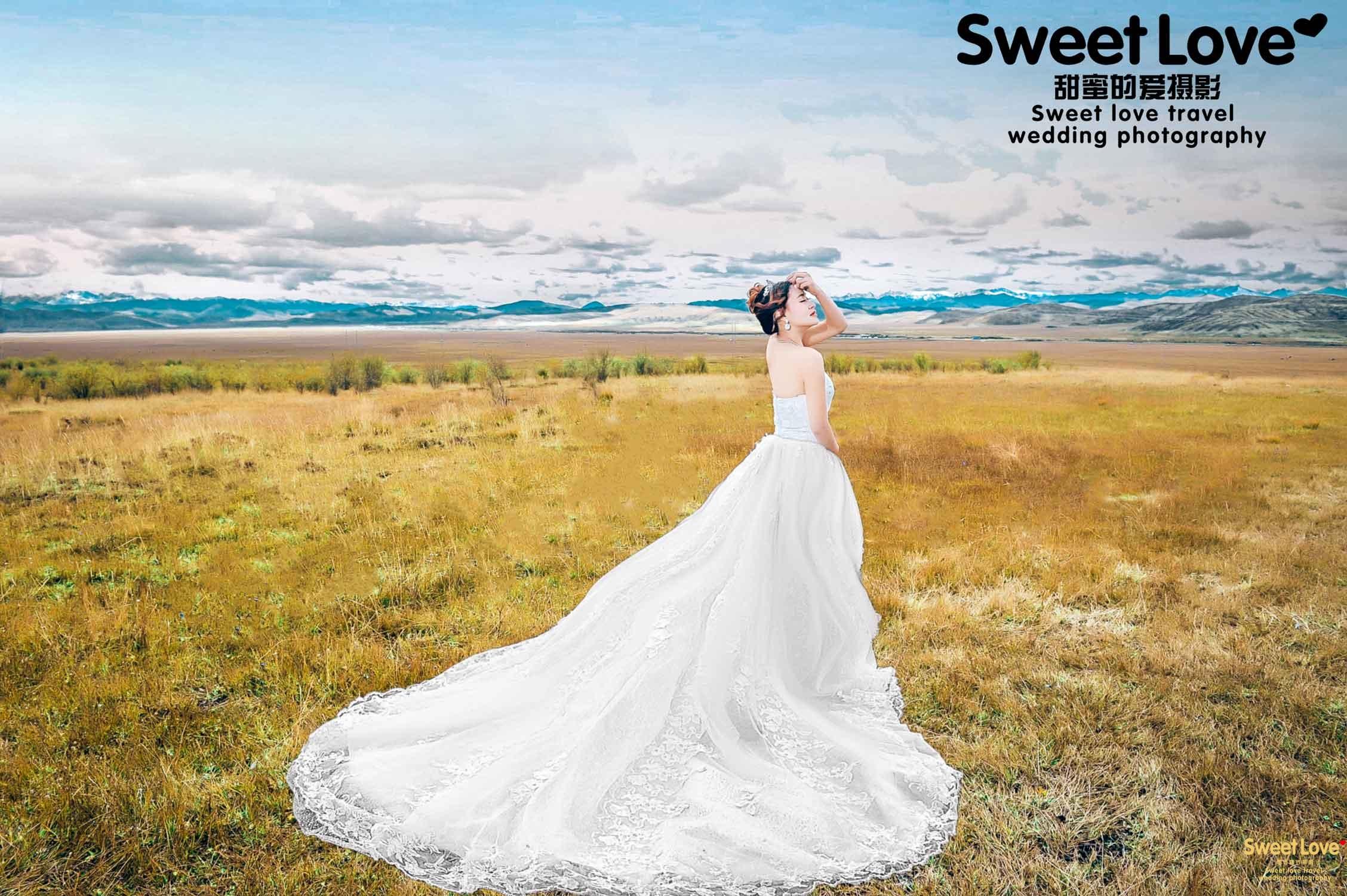 草原旅拍婚纱照怎么添加草原民族风情